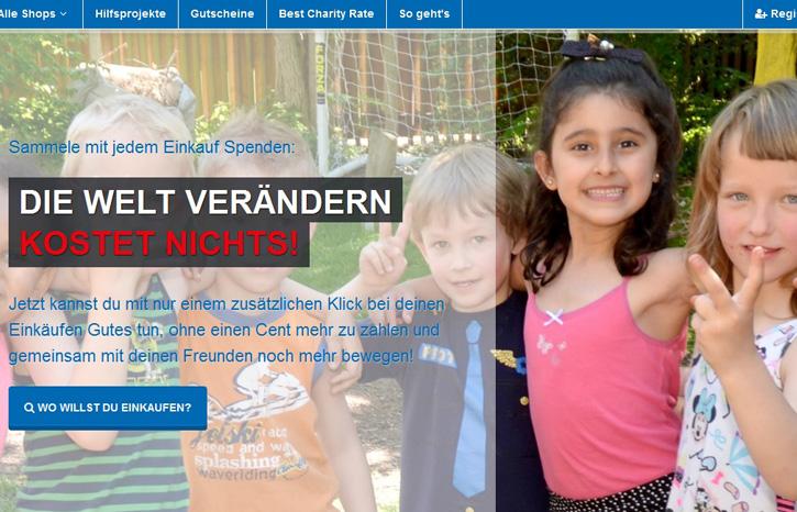 Online shoppen und dabei spenden, zum Beispiel für das Deutsche Kinderhilfswerk