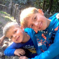 """Florian und Sebastian haben für Kinder in Deutschland gespendet: """"Wir wollen, dass es allen Kindern gut geht und geben von unserem Taschengeld etwas für die Kinder, denen es nicht so gut geht."""""""