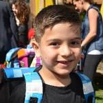 Das Deutsche Kinderhilfswerk verteilt jedes Jahr bis zu 2000 gefüllte Schulranzen an Kinder aus einkommensschwachen Familien.