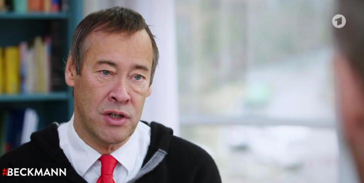 Thomas Krüger, Präsident des Deutschen Kinderhilfswerkes, bei #Beckmann zum Thema Kinderarmut und Chancengleichheit.
