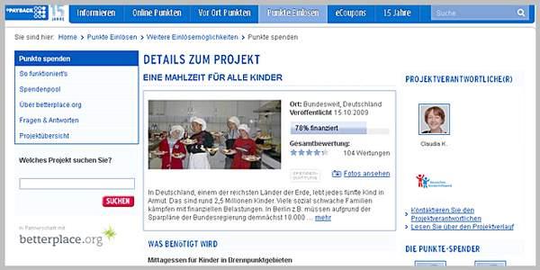 Mit dem Payback-System kann über das Deutsche Kinderhilfswerk ganz einfach Kindern geholfen werden und gleichzeitig selbst davon profitiert werden.