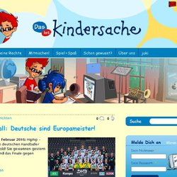 kindersache.de Screenshot
